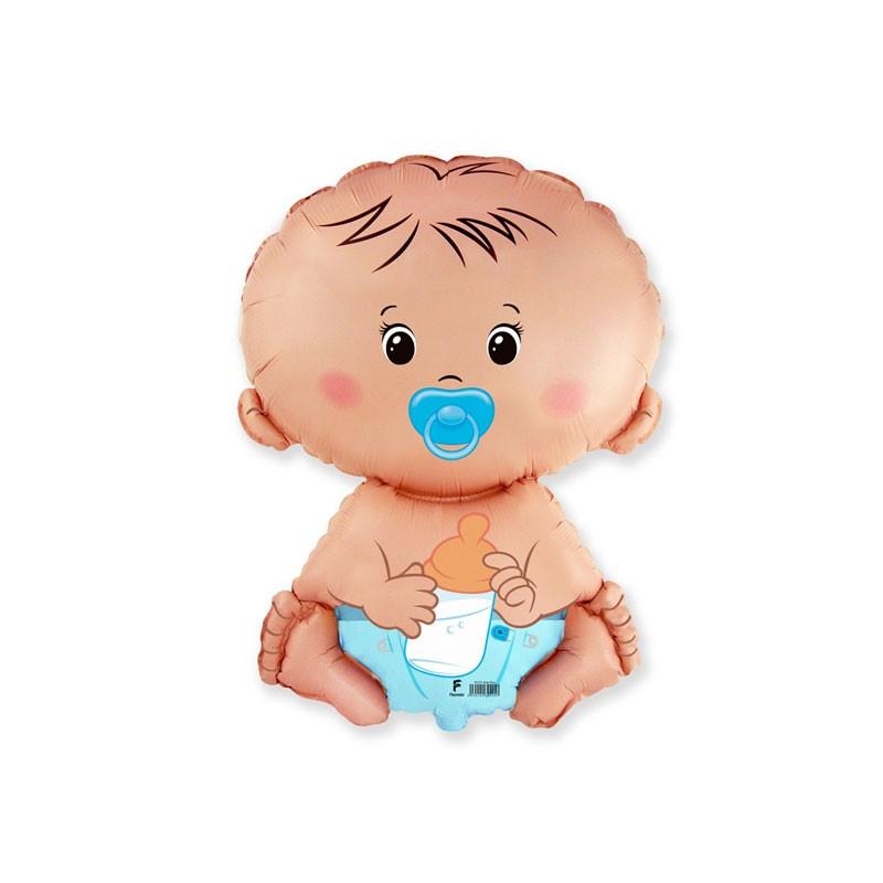 Palloncino foil bimbo bebè 14\'\' 35 cm 902751