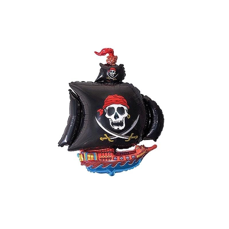 Palloncino foil nave dei pirati 14\'\' 35 cm 902669