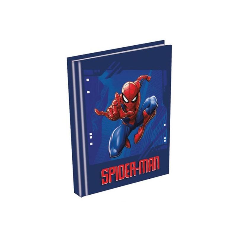 Diario Scuola Spiderman Agenda 10 Mesi Non datata 20x15 cm SP0744