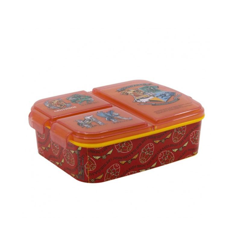 Lunch Box Portamerenda 3 scomparti harry Potter 14120