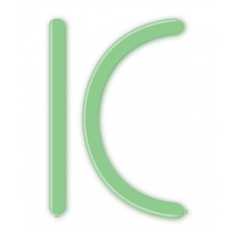 Palloncini pastello Modellabili verde menta 29 D4/29 100 pz.