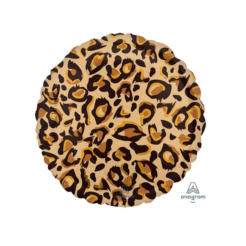 Pallone foil standard 17 - 43 cm leopardo 4238201