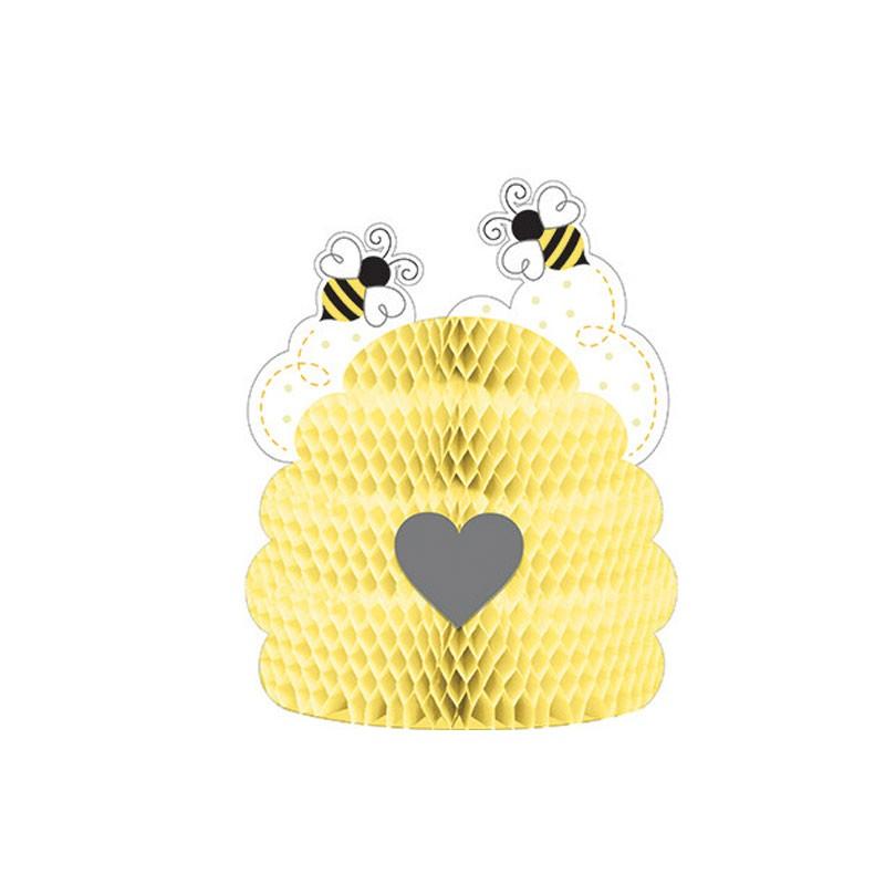 Centrotavola api Bumblebee 23 x 28 cm 340067