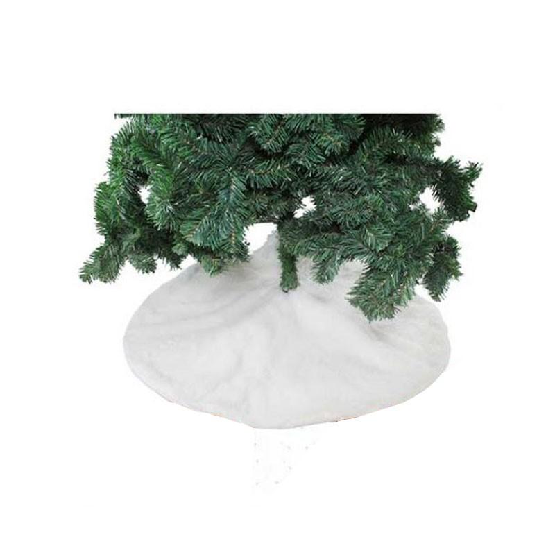 copribase per albero bianco 90 cm 82204