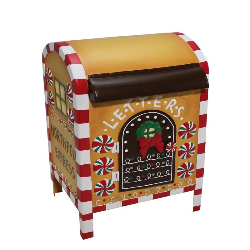 Porta lettere pan di zenzero 61691 21 x 19 x 30 cm