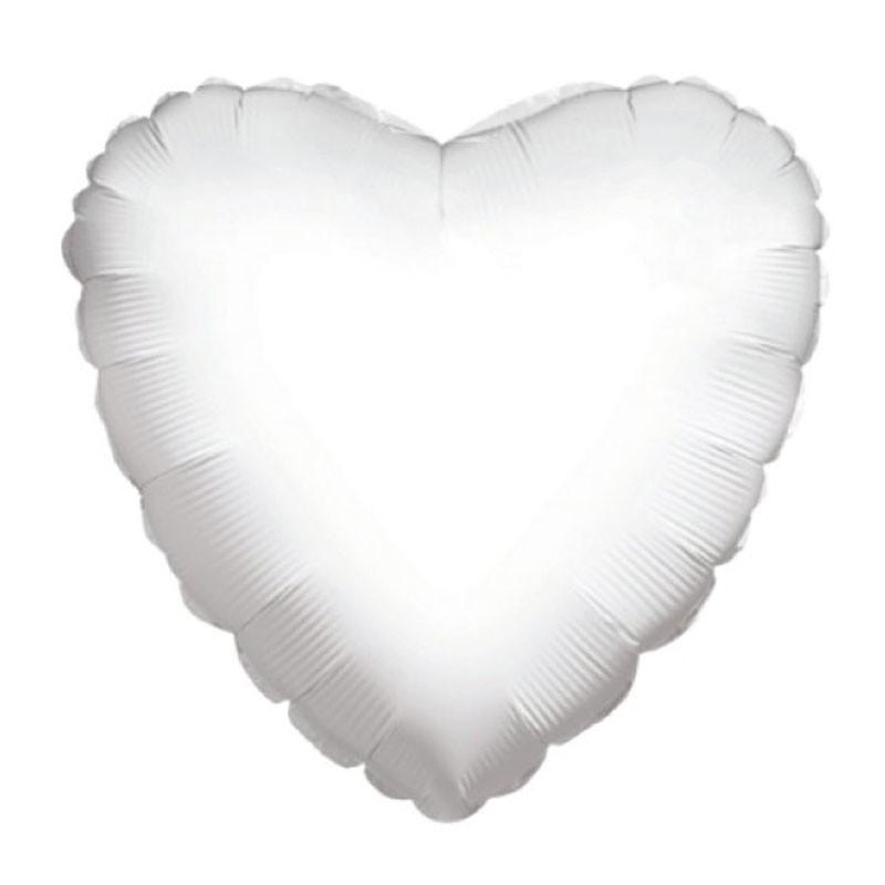 palloncino Mylar Cuore Bianco 36 90 cm CR36W-01