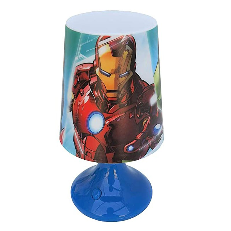 Lampada da notte per bambino Avengers MV15801