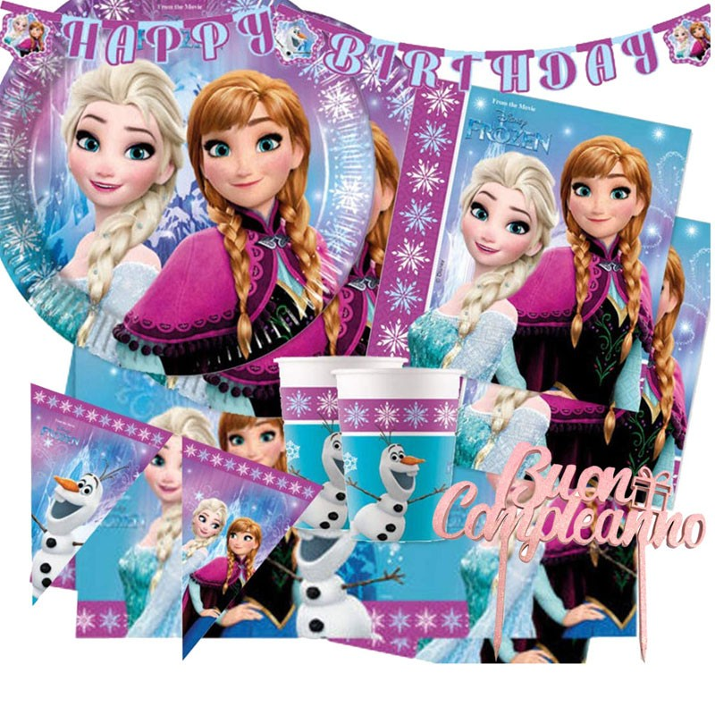 KIT N 79 COMPLEANNO FROZEN...