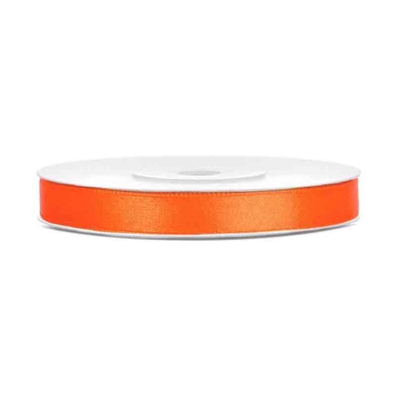 Nastrino Raso arancione TS6-005 6 mm x 25 m