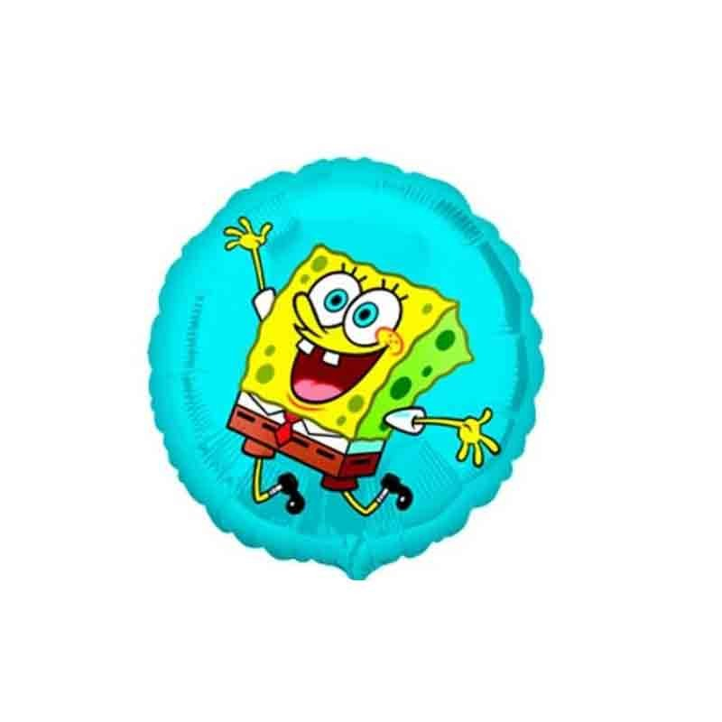 palloncino foil tondo spongebob 22951 45 cm