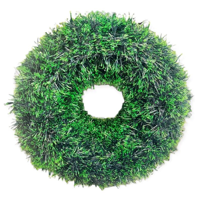 Corona natalizia fuori porta verde dia. 38 cm COR1/GR