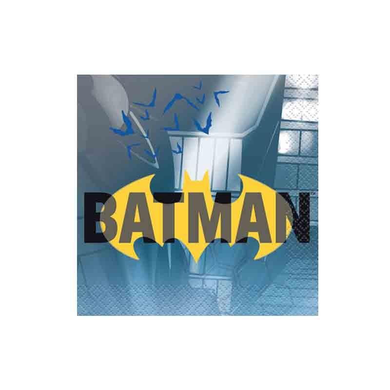 Tovagliolo 25 x 25 cm Batman 16 pz 77511