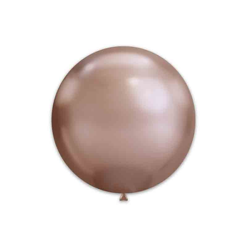 25 Palloncini Chrome 15 - 38 cm Rosa Gold 96 GC150 96