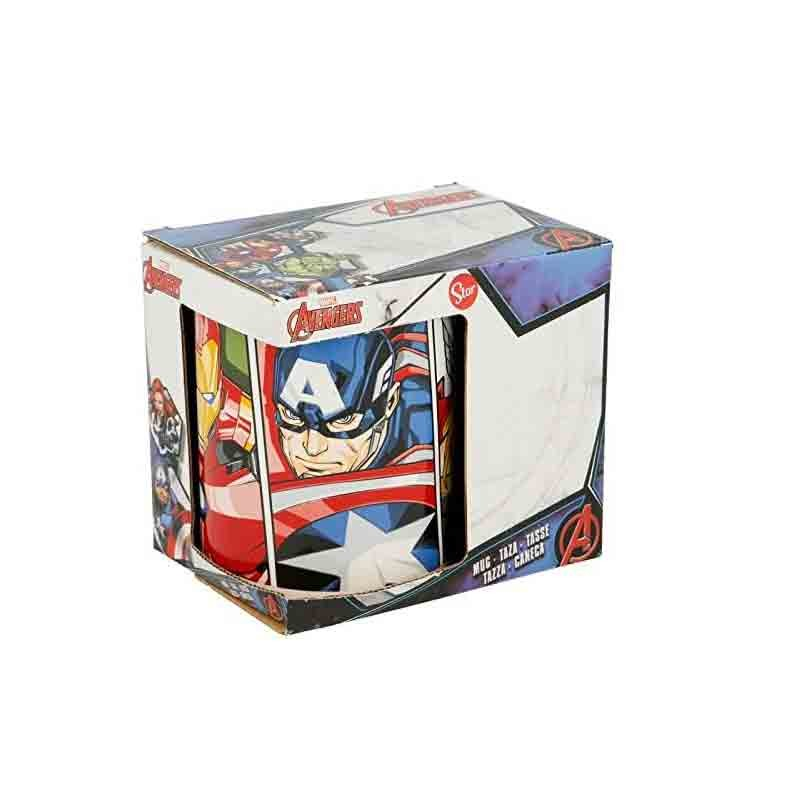 tazza avengers in ceramica 320 ml con gift box STAV2833