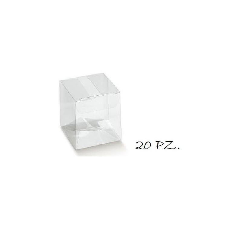 100 TUBI PORTACONFETTI TRASPARENTI 05236