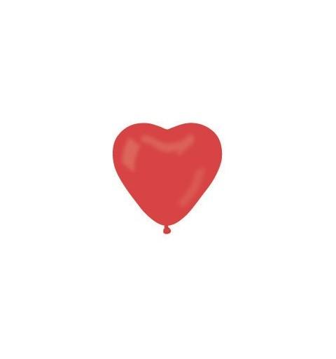 Palloncini cuore rosso - San Valentino
