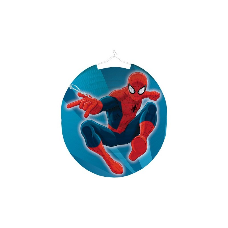 KIT 6 - 213 PZ. SPIDERMAN + FORCHETTE E PALLONCINI ROSSI