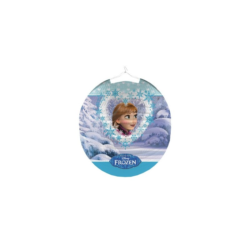 SET LANTERNE TONDE FROZEN NEW 999347 DECORAZIONI FESTA COMPLEANNO PARTY