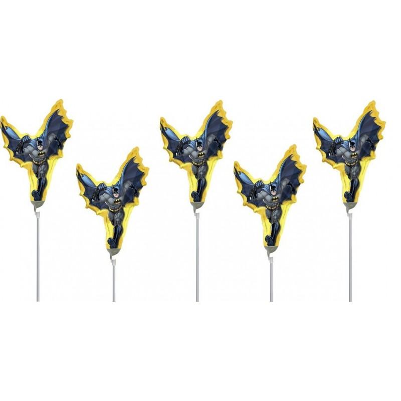 5 PALLONCINI SPIDERMAN CON ASTA FOIL 7A2866802