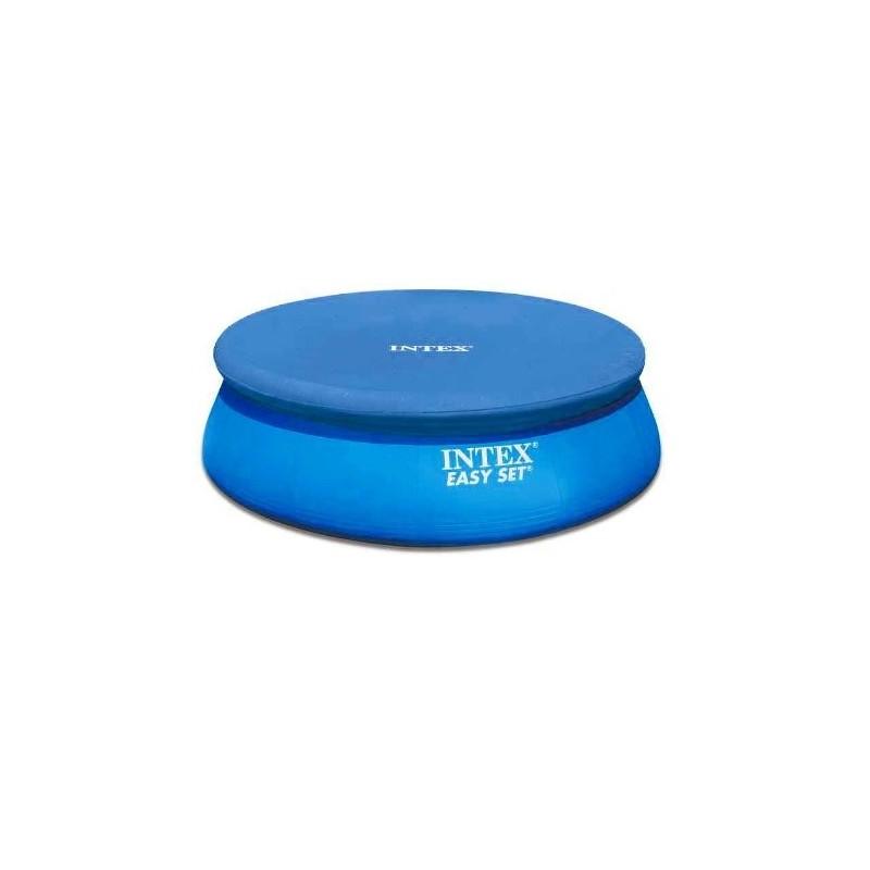 28021 copripiscina easy intex telo copertura rotonda cm 305 copri piscina irpot - Telo copertura piscina intex ...