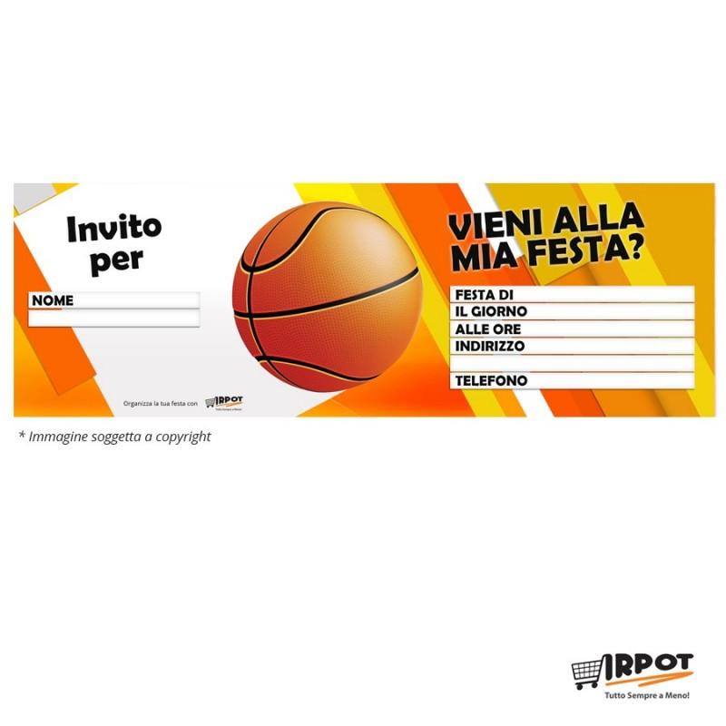 Inviti compleanno basket