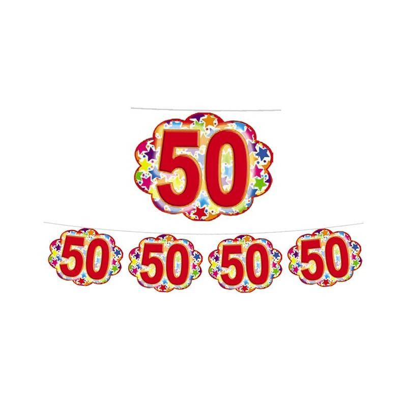 FESTONE COMPLEANNO 40 ANNI STARDUST NUVOLETTE 60352