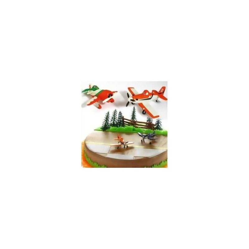 70673 KIT DECORAZIONE TORTA FESTA DISNEY PLANES