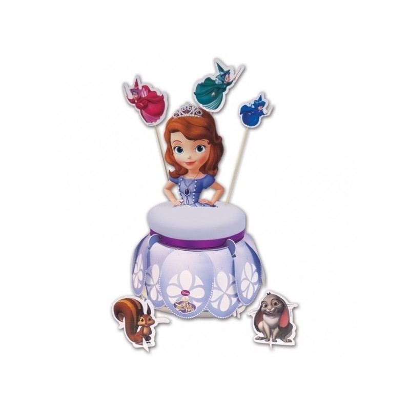 Alzatina per torta principessa sofia