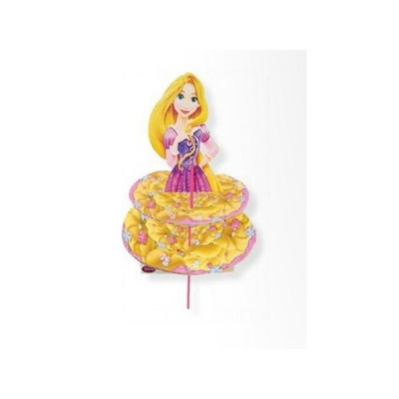 Alzatina per Muffin principessa Rapunzel