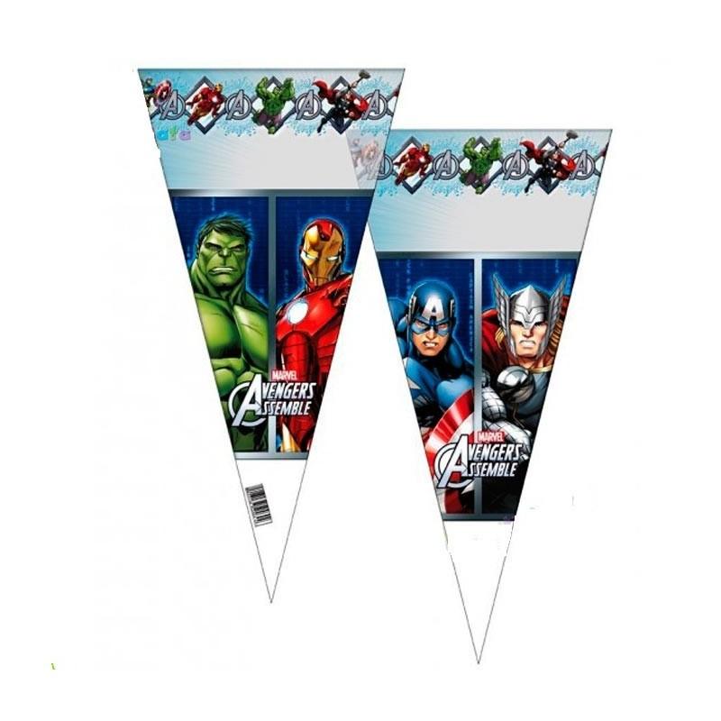 bustine regalini caramelle avengers super eroi