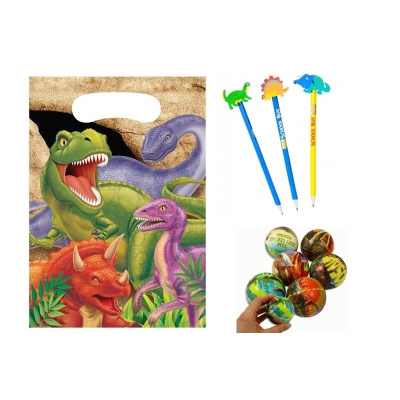 Kit Regalini Gadget Per Dopo Festa Compleanno Bambini Tema Dinosauri
