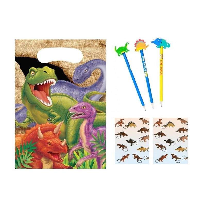 Set Regalini Fine Festa Dinosauri