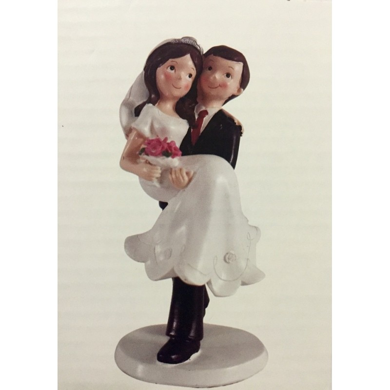 CAKE TOPPER SPOSI ROMANTICI DECORAZIONE TORTA MATRIMONIO WEDDING SPOSINI