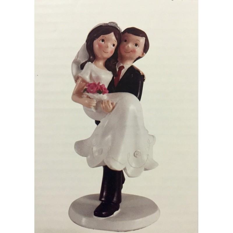 CAKE TOPPER SPOSI ROMANTICI DECORAZIONE TORTA MATRIMONIO WEDDING SPOSINI