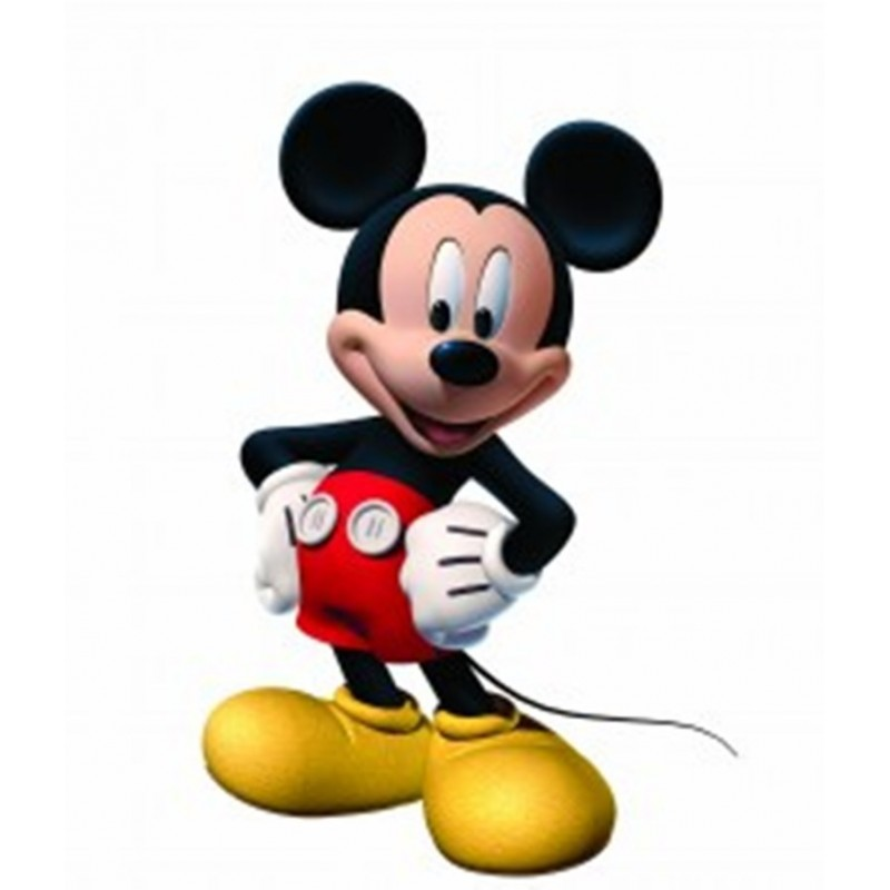 FIGURA DECORATIVA SNODABILE TOPOLINO MICKEY MOUSE