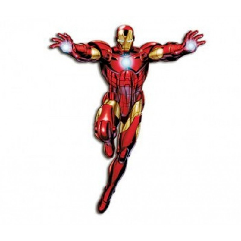 FIGURA DECORATIVA SNODABILE IRON MAN