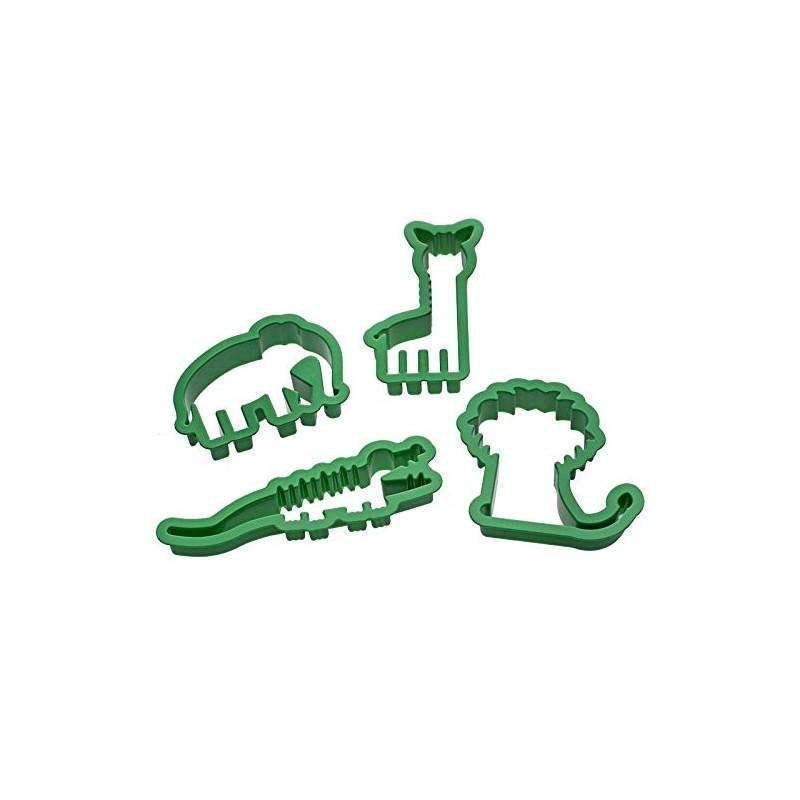 Decora 4 formine tagliapasta animali della giungla - Accessori per cake design ...