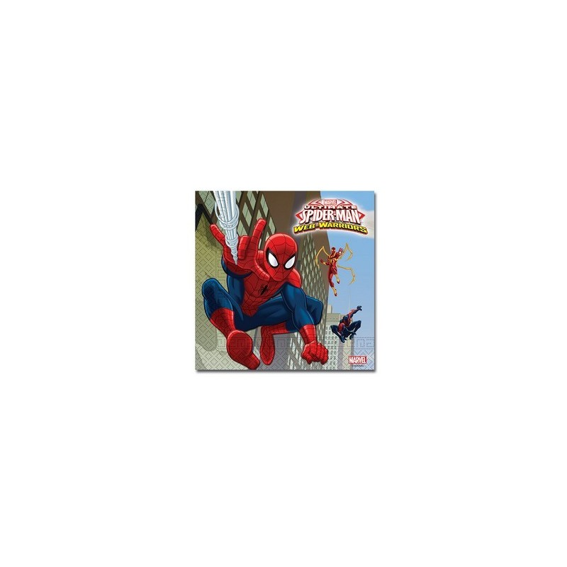 TOVAGLIOLI SPIDERMAN WEB WARRIORS 20 PZ