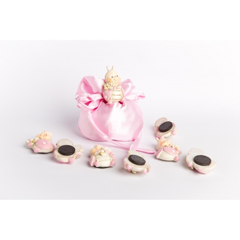 sacchetit rosa magneti coccinella