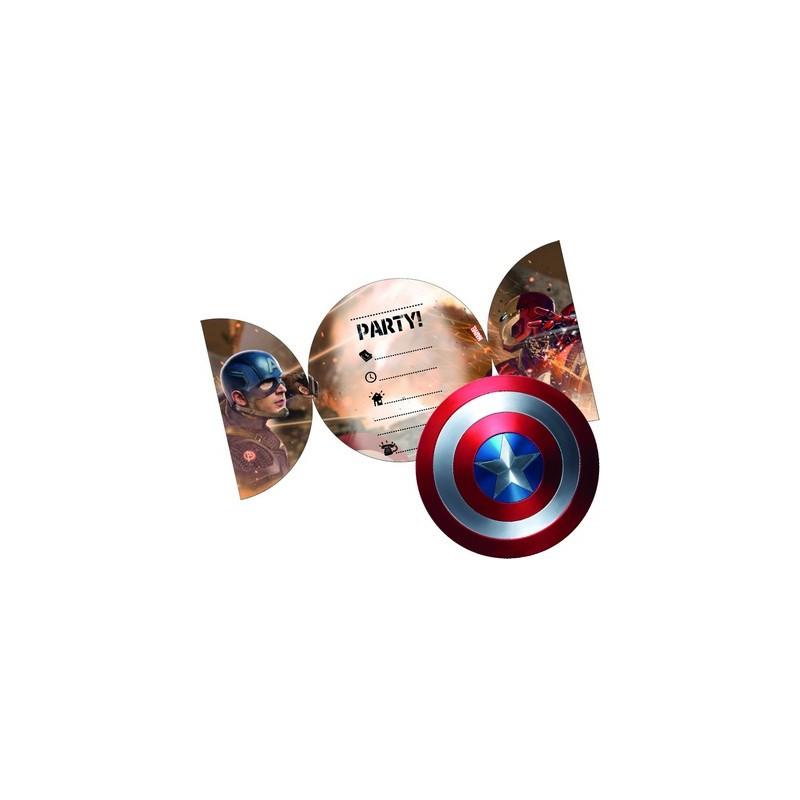 Inviti Compleanno Personaggi Marvel Irpot