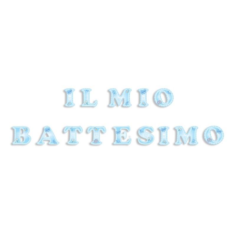FESTONE FIGURATIVO PER FESTA BATTESIMO BAMBINO