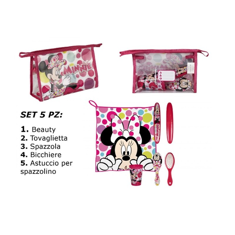 BEAUTY SET IGIENE MINNIE TOPOLINA