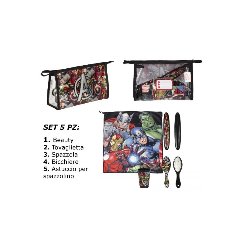 BEAUTY SET IGIENE AVENGERS