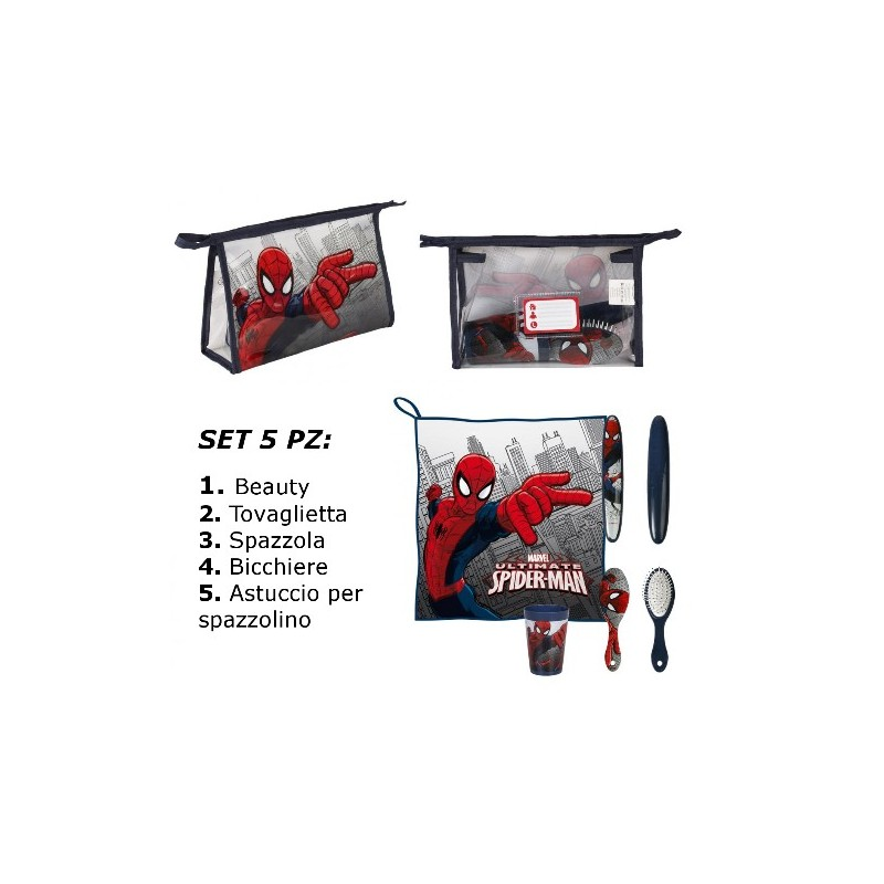 BEAUTY SET SPIDERMAN