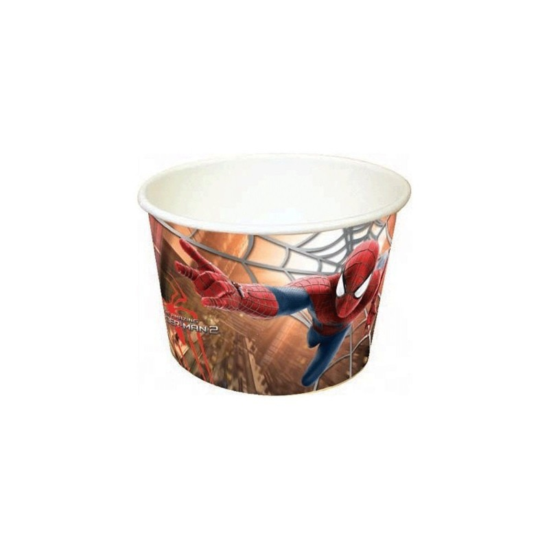 COPPETTE GELATO SPIDERMAN PZ 24