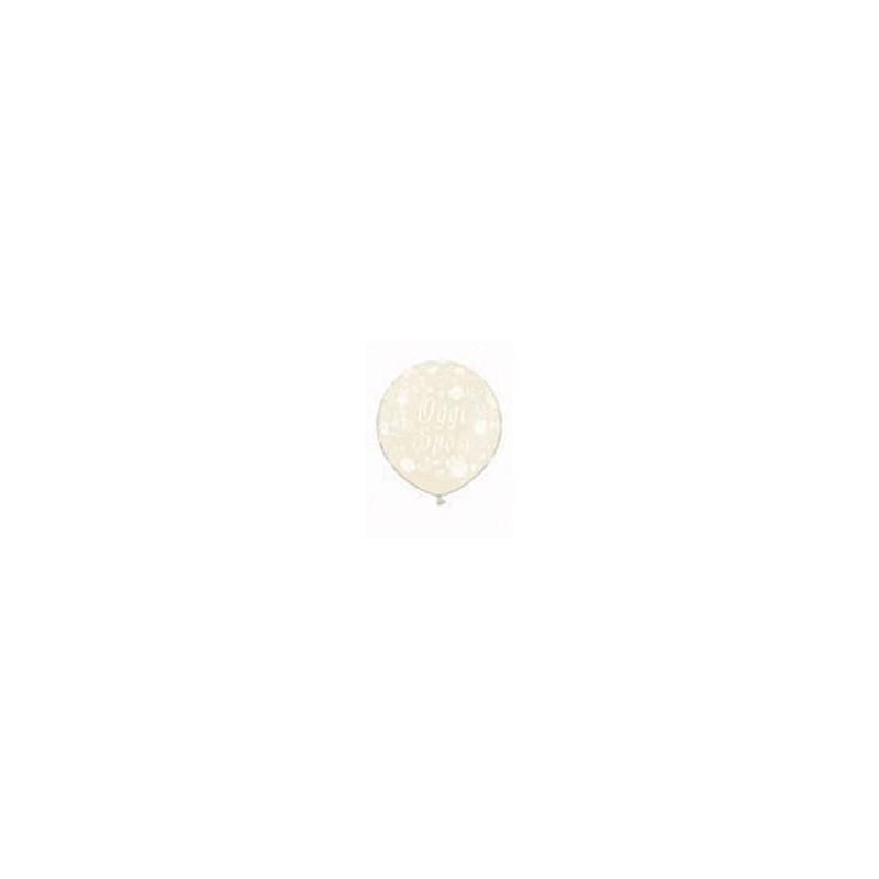 pallone oggi sposi vaniglia stampato 1 metro