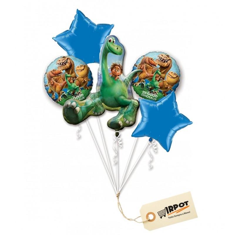Bouquet di palloncini Dinosauri