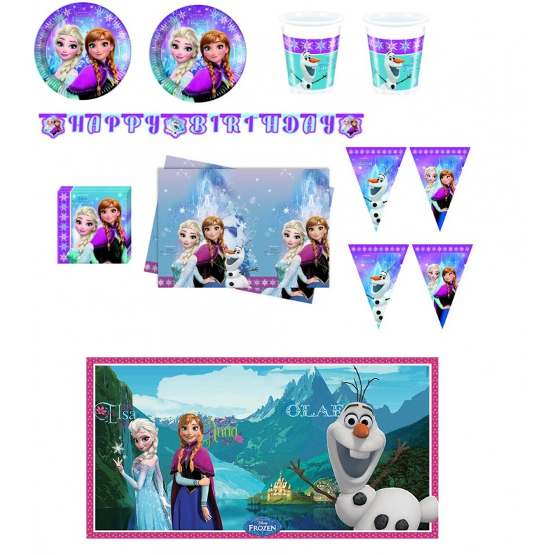 KIT COMPLEANNO FROZEN NORTHEN