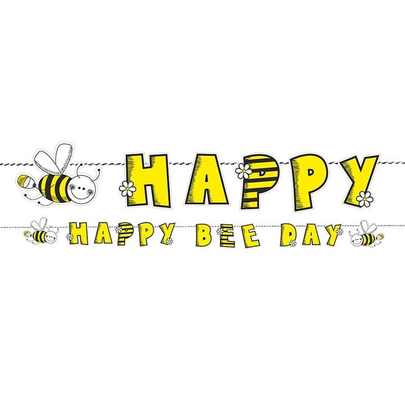 GHIRLANDA HAPPY BIRTHDAY APE BEE GRL25