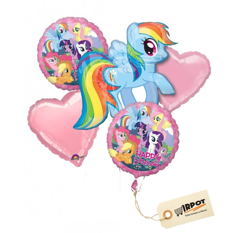 Bouquet di palloncini My Little Pony